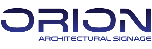 Orion Architectural Signage